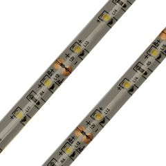 led strip warm wit 3528 12V 60 leds IP65 closeup