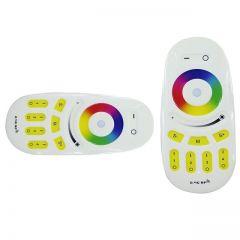 RGB Touch wheel 2.4G RF 4-zone afstandsbediening